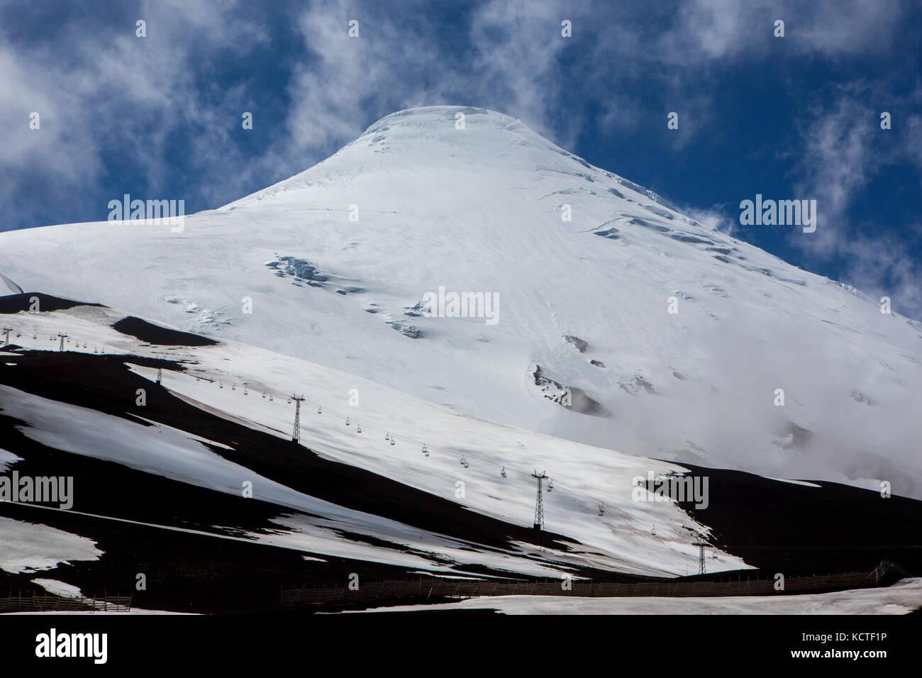 Volcan Osorno, Los Lagos Region, Chile. Stockbild