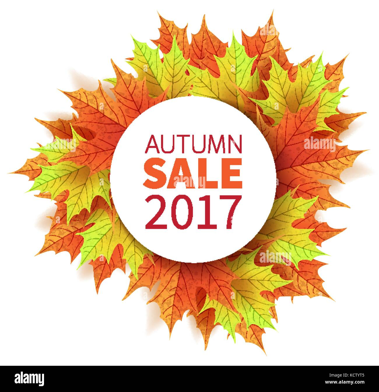 Blätter Im Herbst Farbenfrohen Herbst Ahorn Blätter Vorlage Fo