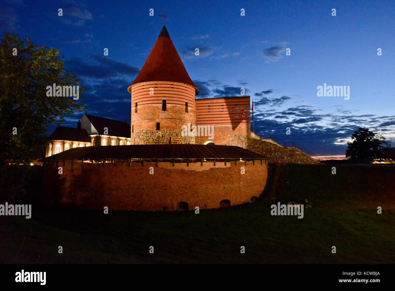 Schloss Kaunas, Litauen Stockbild