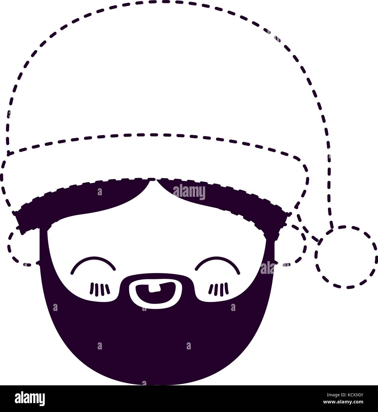 Charmant Santa Gesicht Färbung Seite Fotos - Entry Level Resume ...