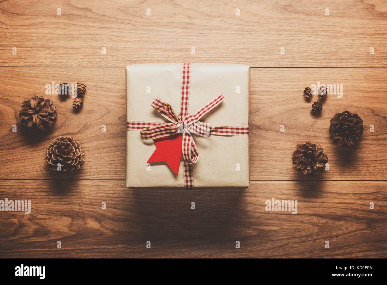 Zauberhafte Weihnachten Thema Hintergrund, Weihnachtsgeschenk und ...