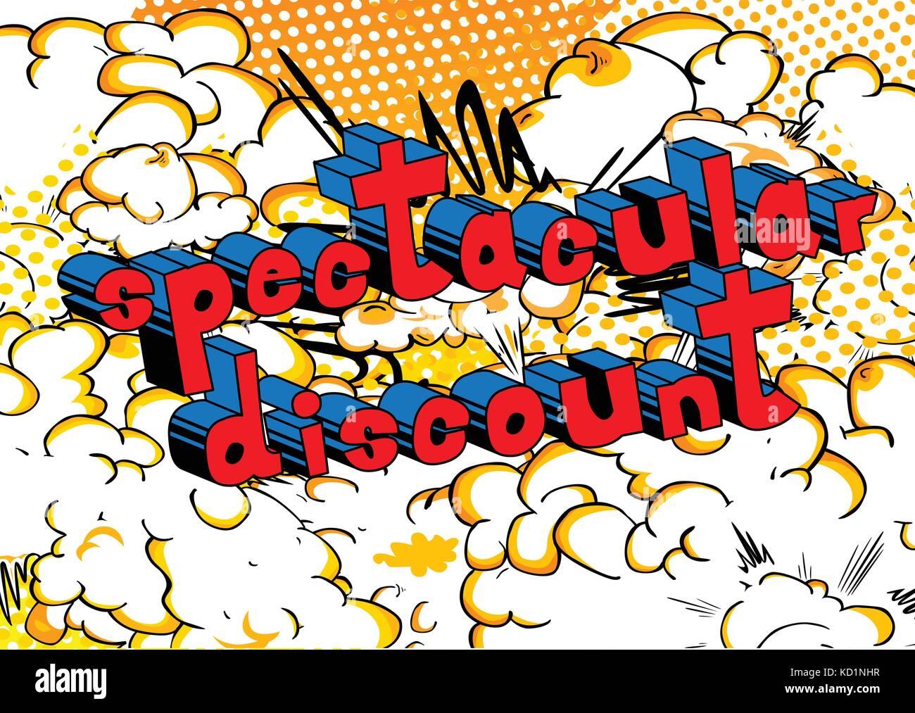 Pop Art Comic Sale Discount Stockfotos & Pop Art Comic Sale Discount ...