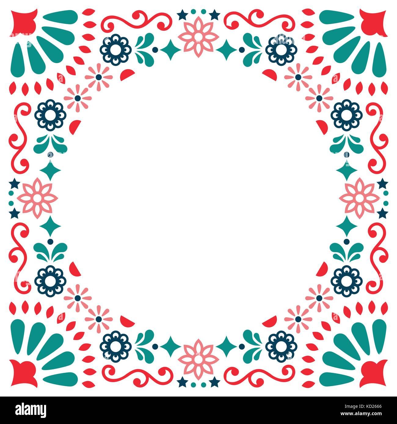 Mexikanische Volksmusik vektor Grußkarte, Hochzeit oder Party ...