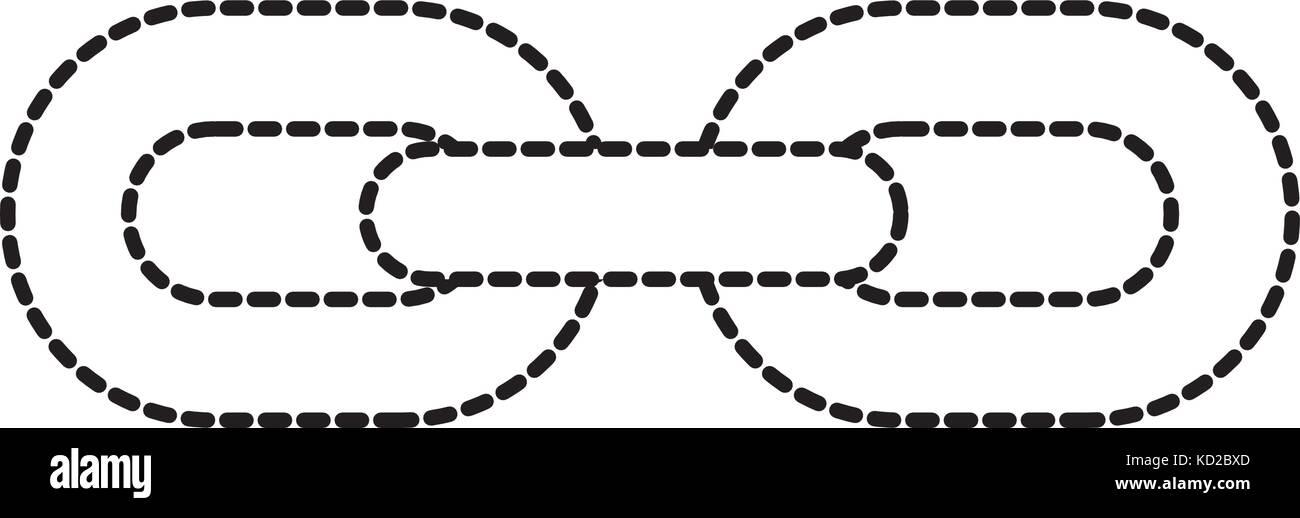 Kette links Verbindung starke hyperllink Symbol Business Konzept ...