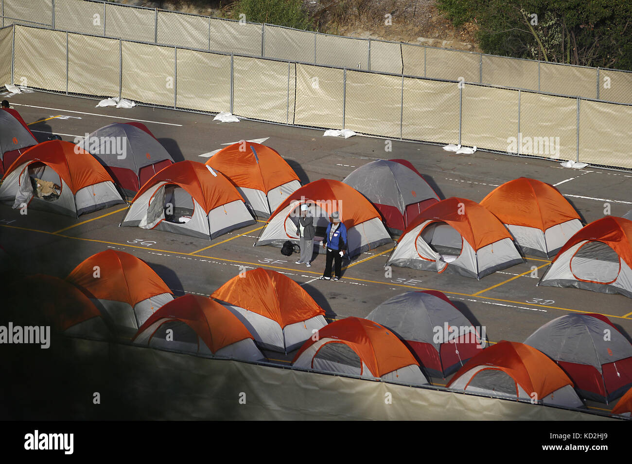 Tent City California Stockfotos & Tent City California Bilder - Alamy