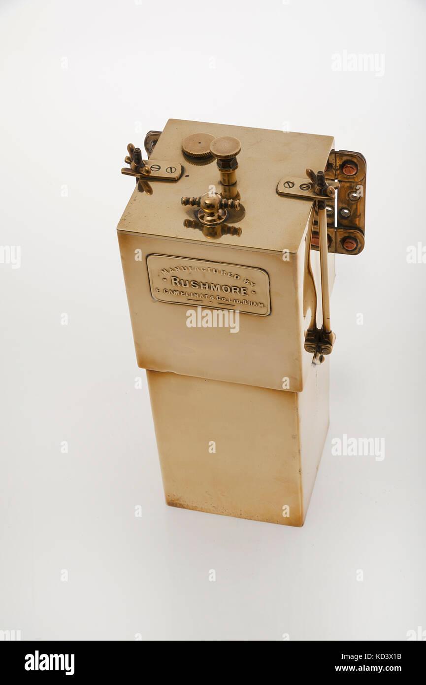 Rushmore Acetylen Gas Generator Stockbild