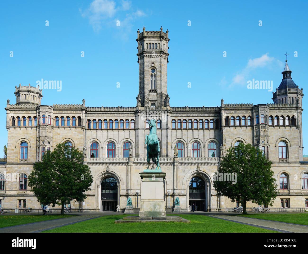 Leibniz Universität Hannover Deutschland Stockbild