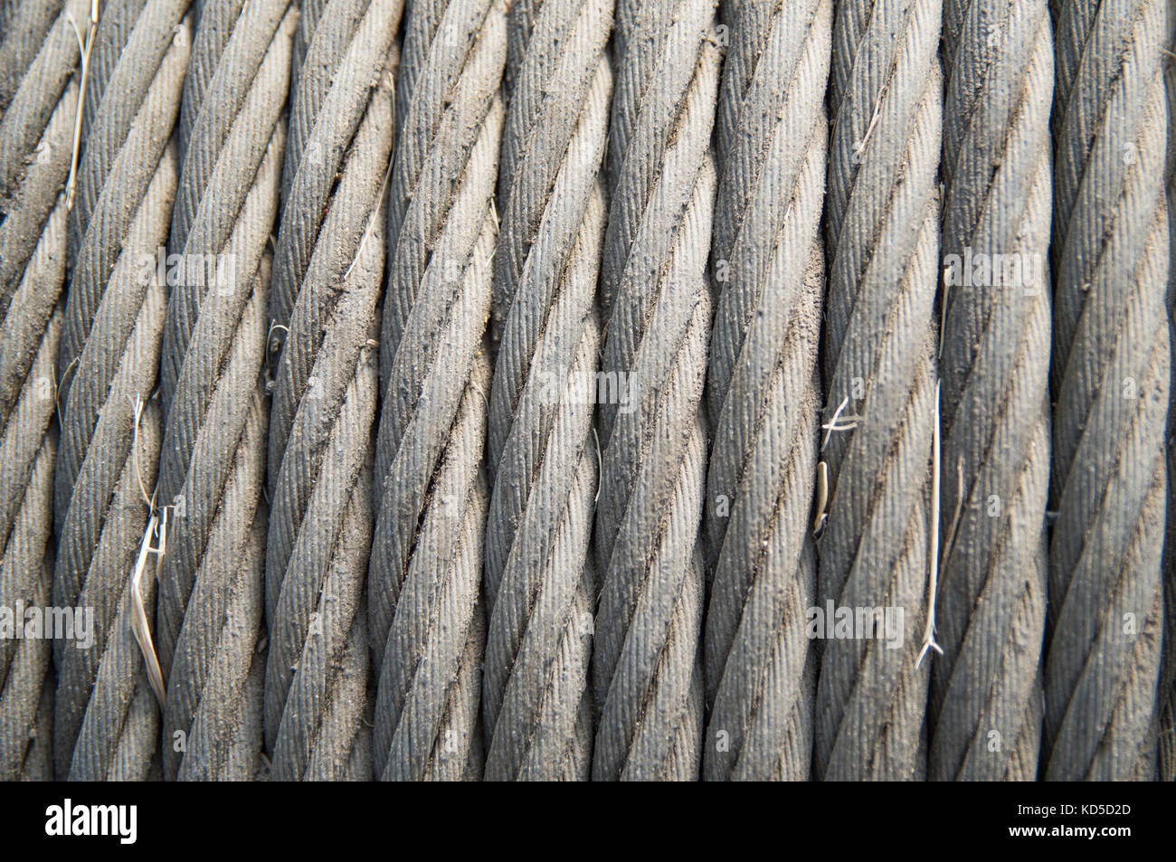 Texture Wire Rope Steel Cable Stockfotos & Texture Wire Rope Steel ...