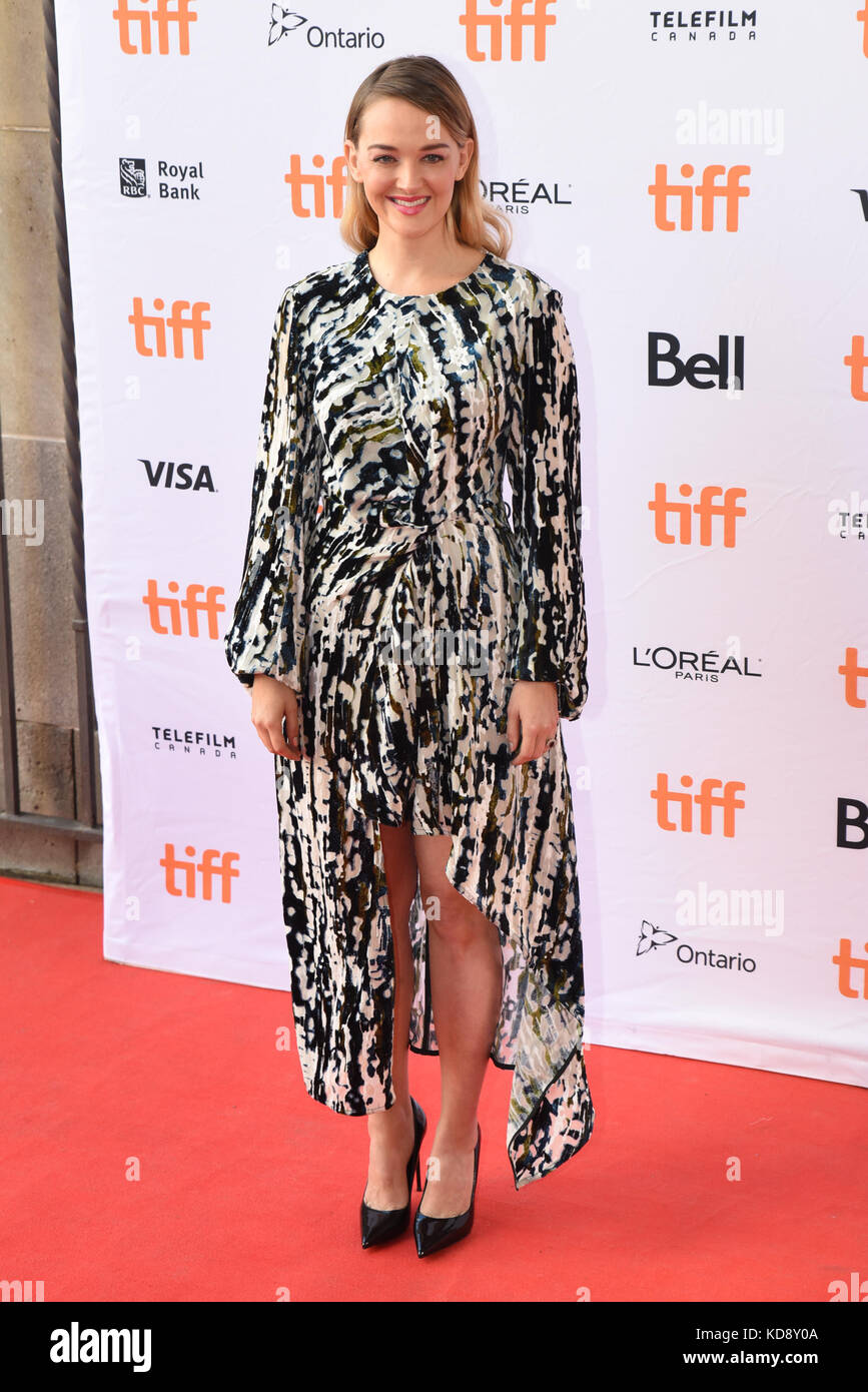 "42 Toronto International Film Festival - ""Wer wir sind""-Premiere mit: Jess weixier Wo: Toronto, Kanada, Stockbild"