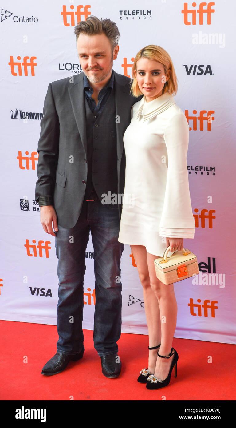 """42 Toronto International Film Festival - """"Wer wir sind""""-Premiere mit: Matthew Newton, Emma Roberts wo: Stockbild"""