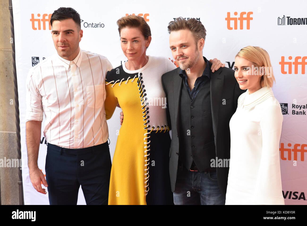 """42 Toronto International Film Festival - """"Wer wir sind""""-Premiere mit: Jason Biggs, Julianne Nicholson, Stockbild"""