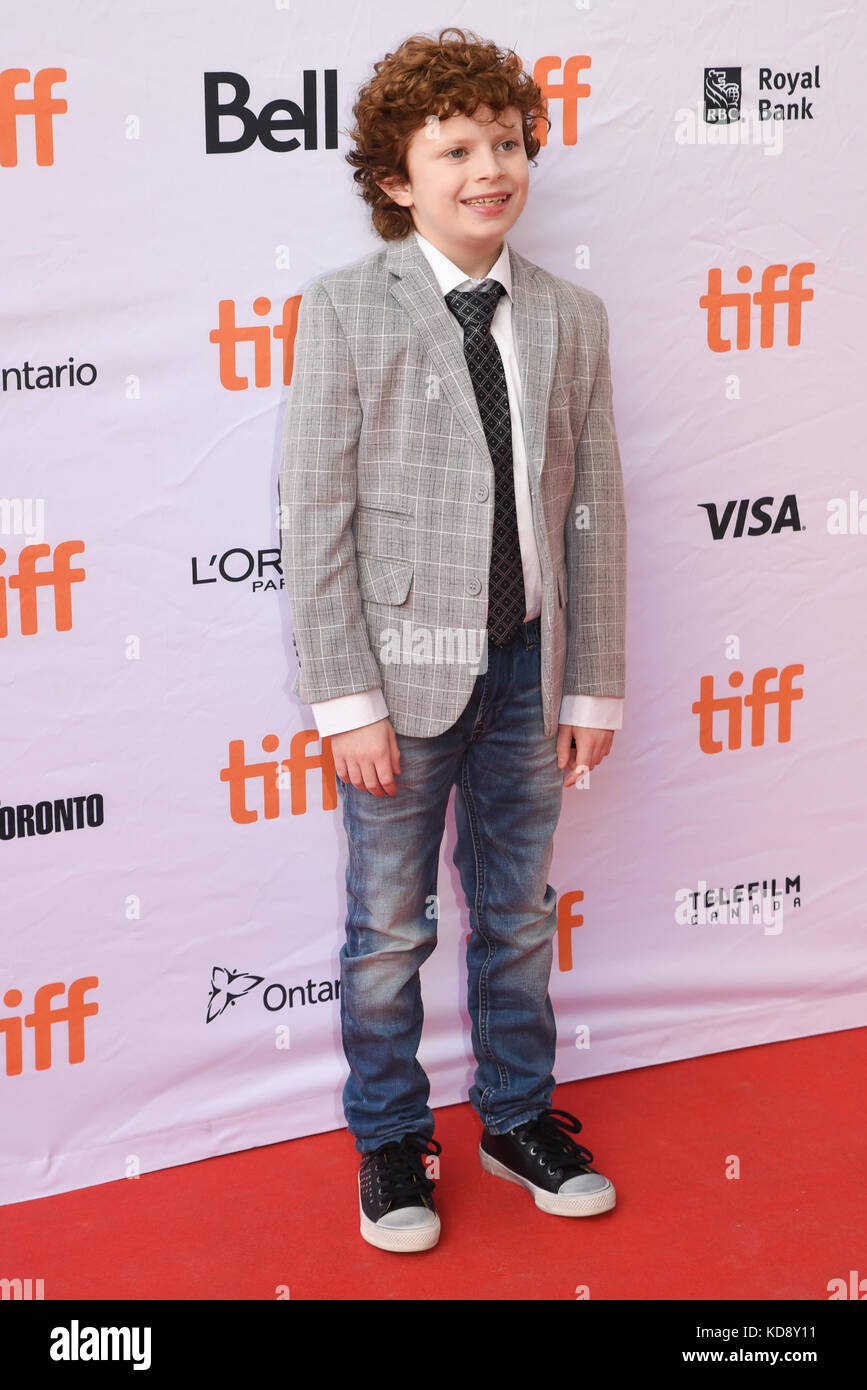 "42 Toronto International Film Festival - ""Wer wir sind""-Premiere mit: Logan Smith, Camila perez Wo: Toronto, Stockbild"