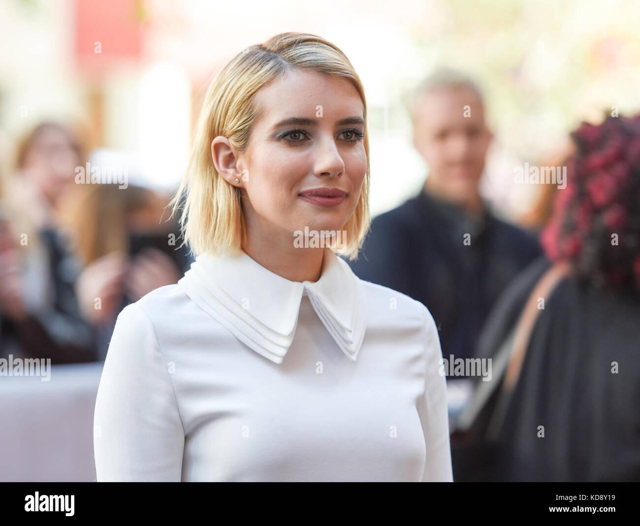 "42 Toronto International Film Festival - ""Wer wir sind""-Premiere mit: Emma Roberts wo: Toronto, Kanada, Stockbild"