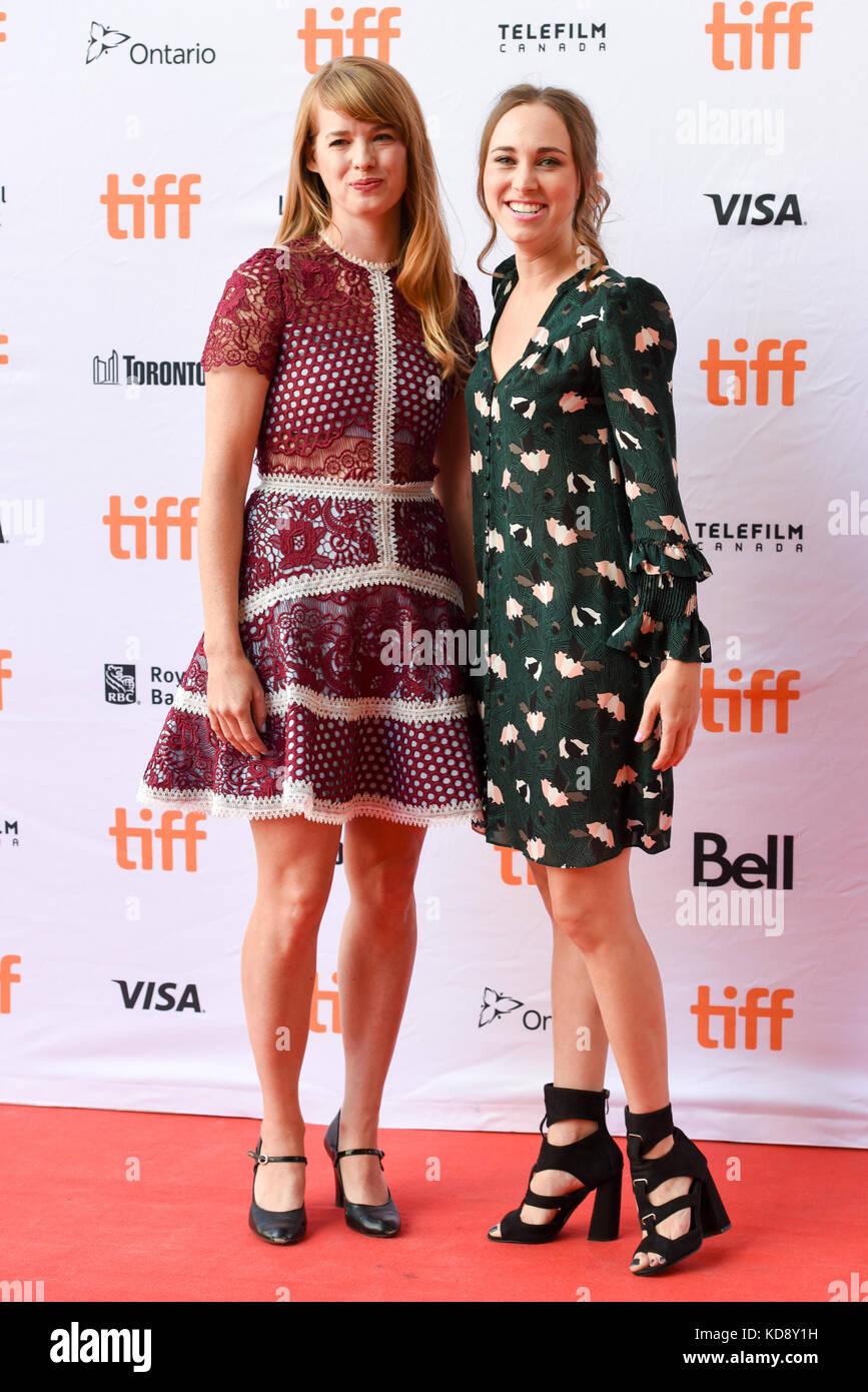 """42 Toronto International Film Festival - """"Wer wir sind""""-Premiere mit: Samantha Hill, Christy escobar Wo: Stockbild"""