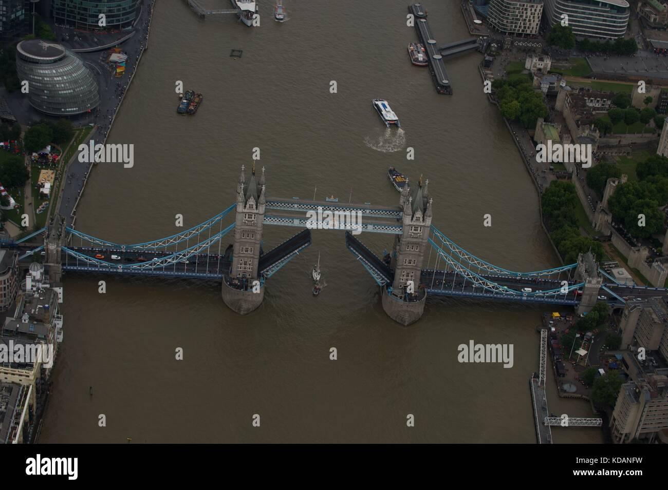 Tower Bridge-London Stockbild