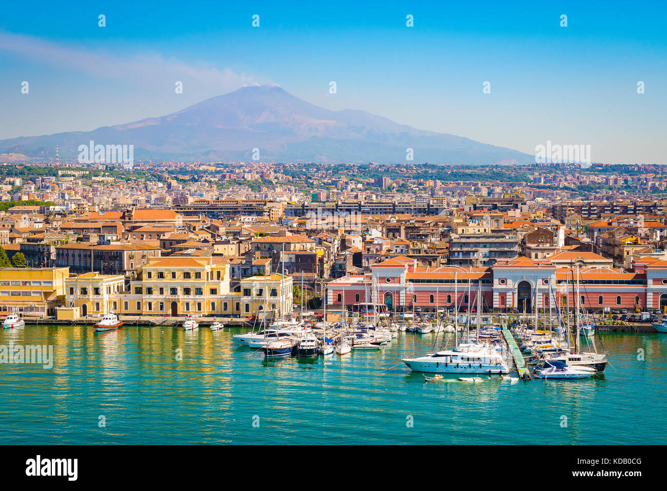 Catania, Sizilien, Italien Stockbild