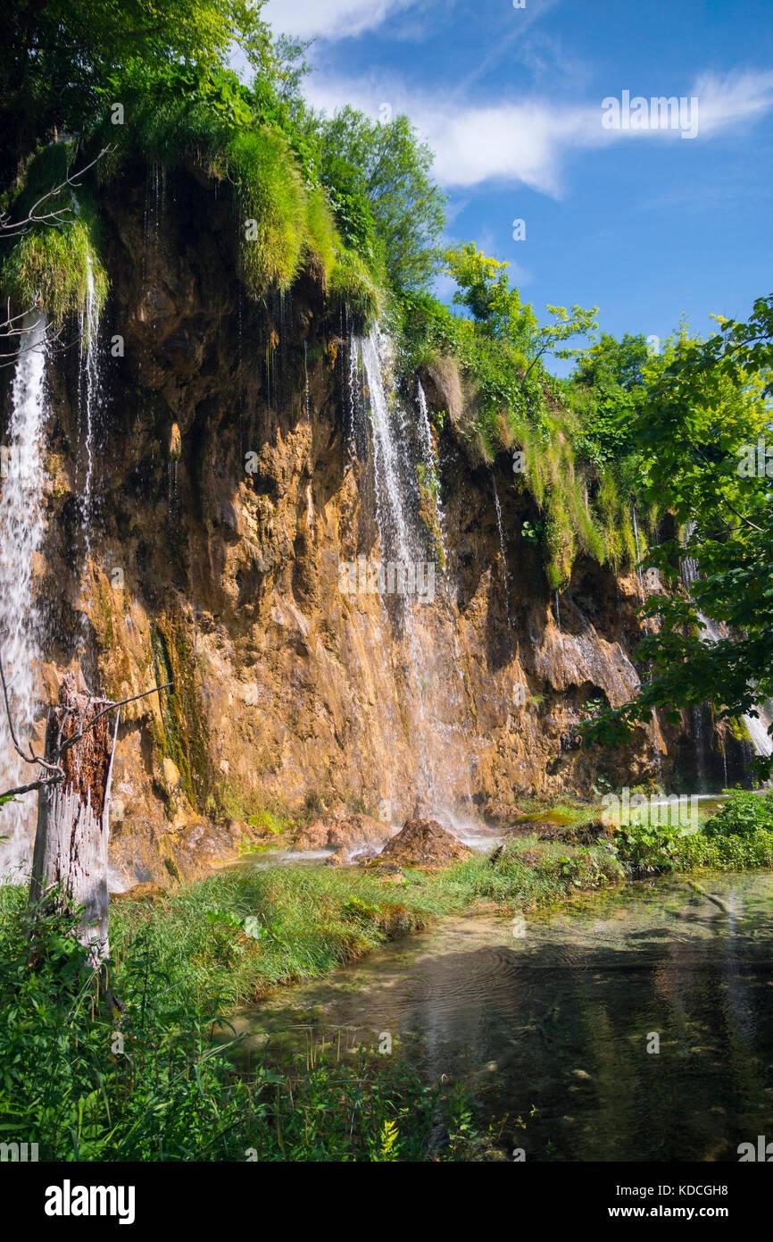 Plitvicer Seen, Nationalpark, Kroatien Stockbild