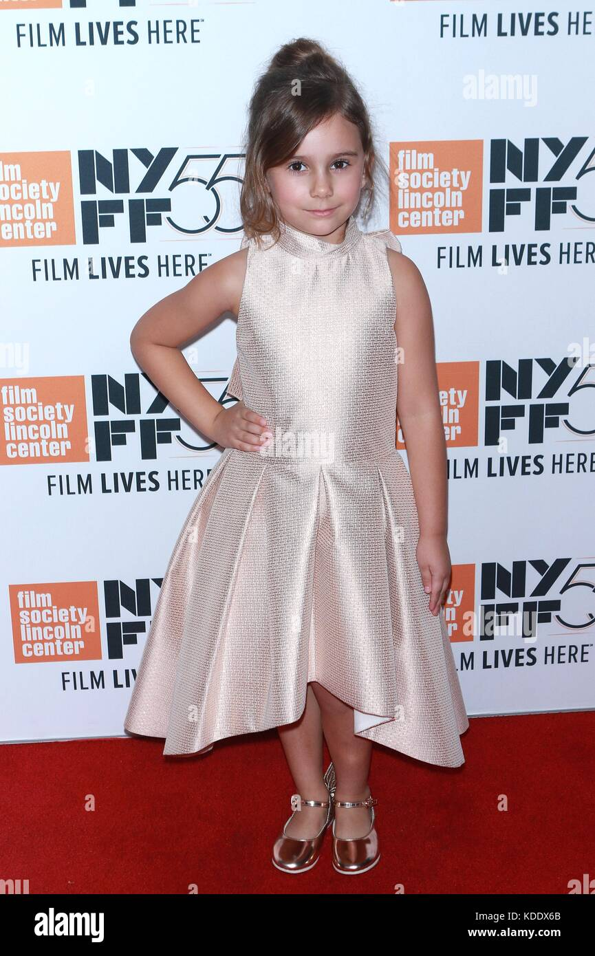 New York, NY, USA. 12 Okt, 2017. piper Blair mudbound auf der 55 nyff in der Alice Tully Hall besucht am 12. Oktober Stockbild