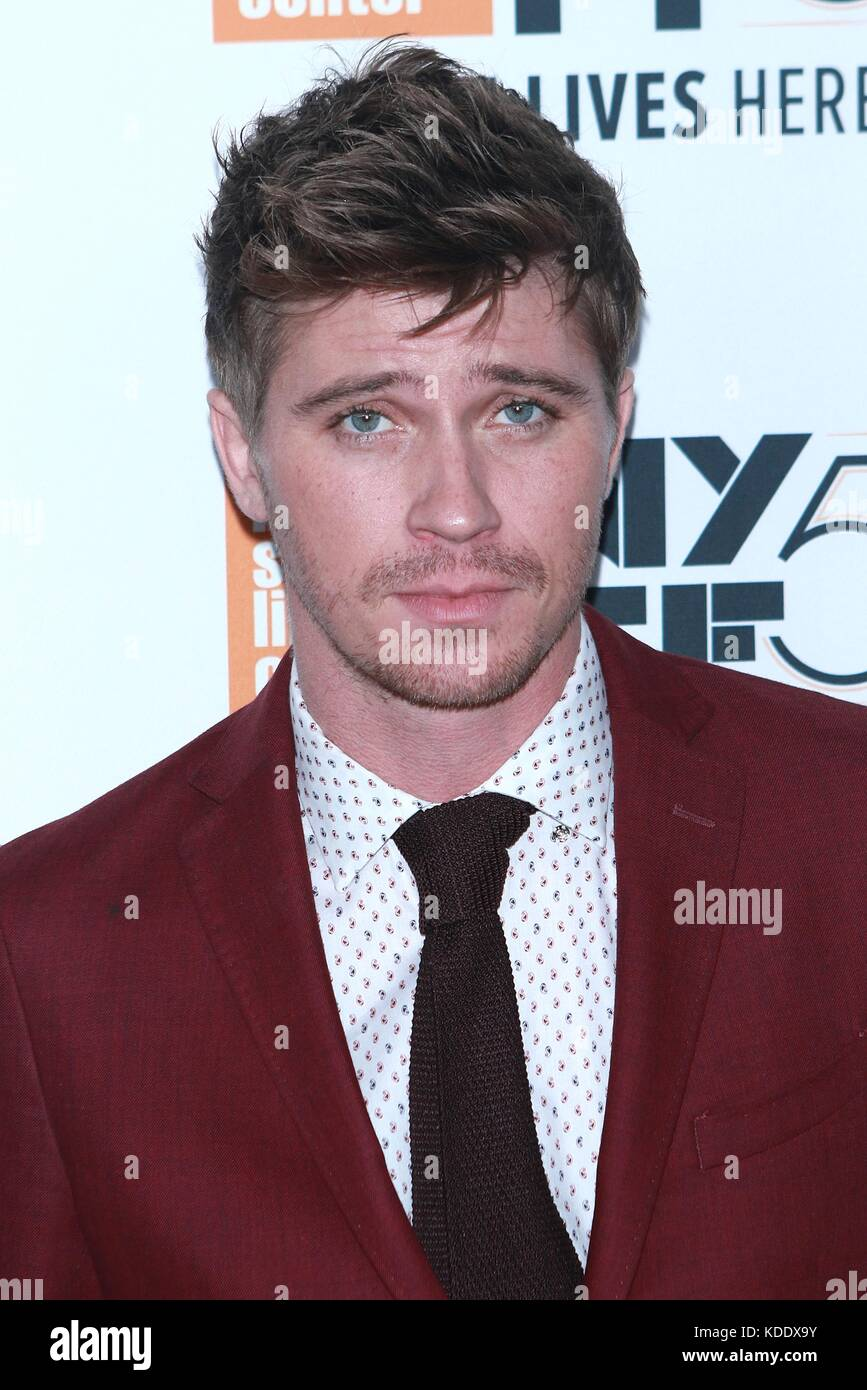 New York, NY, USA. 12 Okt, 2017. Garret hedlund mudbound auf der 55 nyff in der Alice Tully Hall besucht am 12. Stockbild