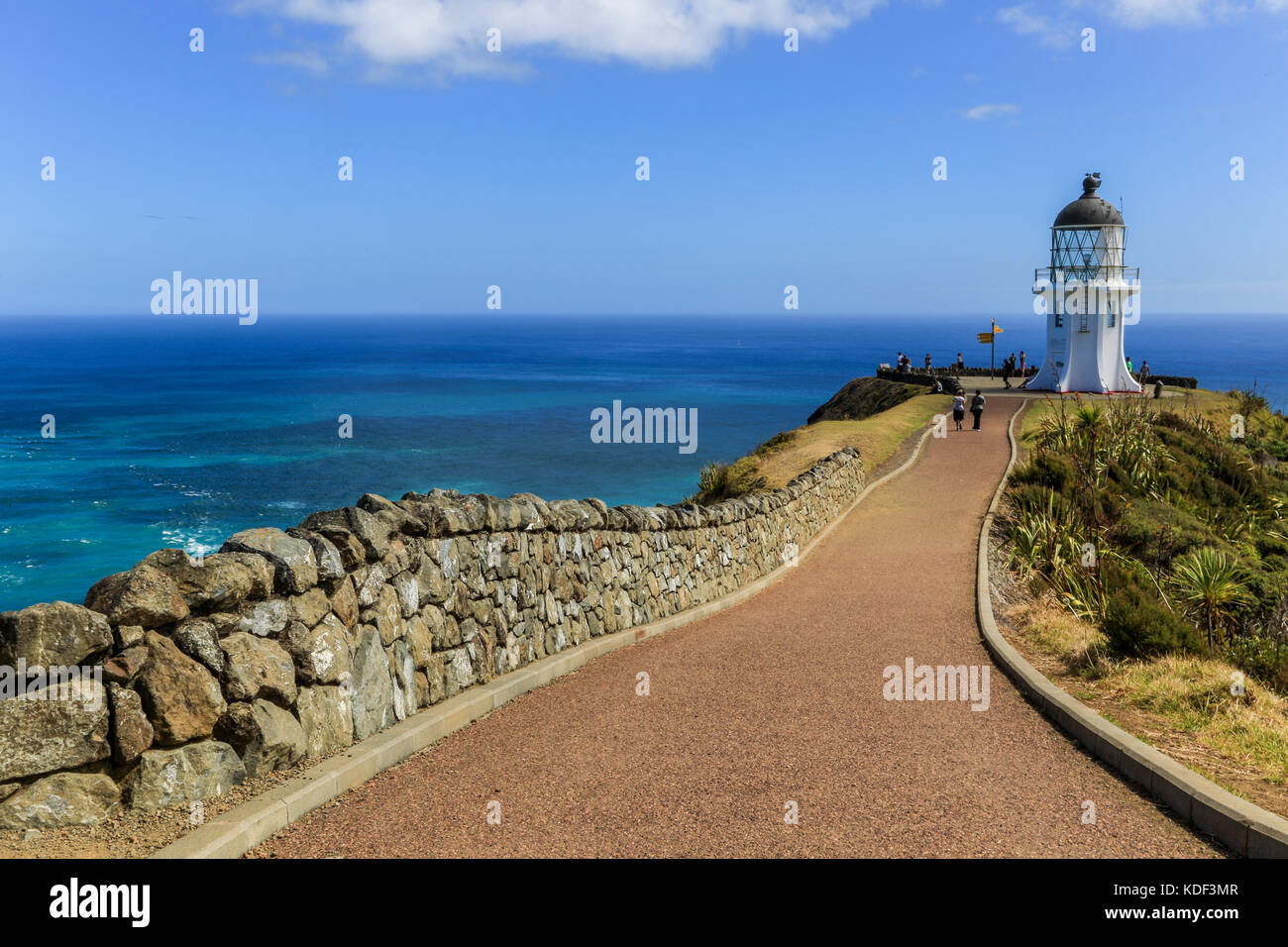 Cape Reinga, North Island, Neuseeland Stockbild