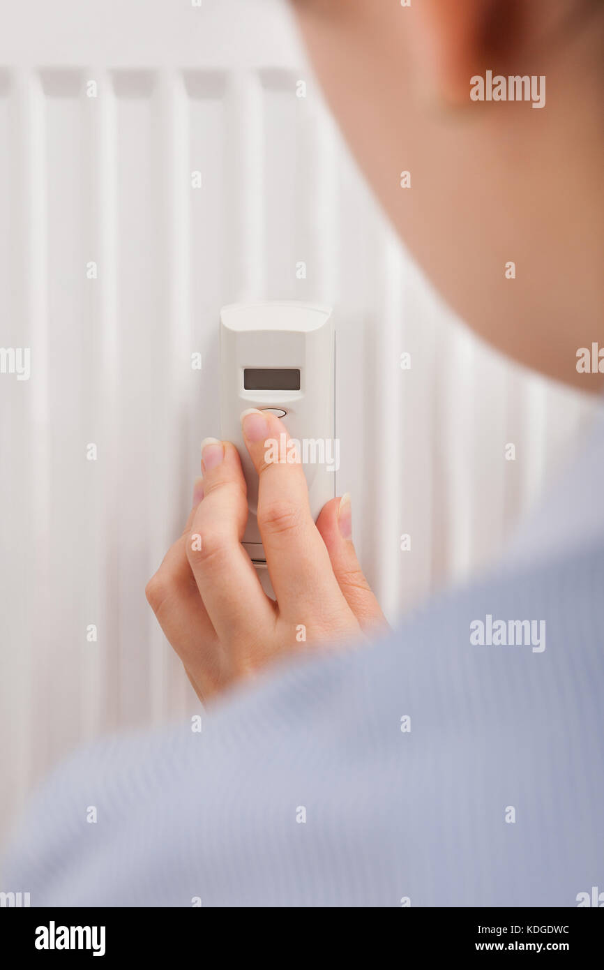 Digital Thermostat Celsius Stockfotos Digital Thermostat Celsius