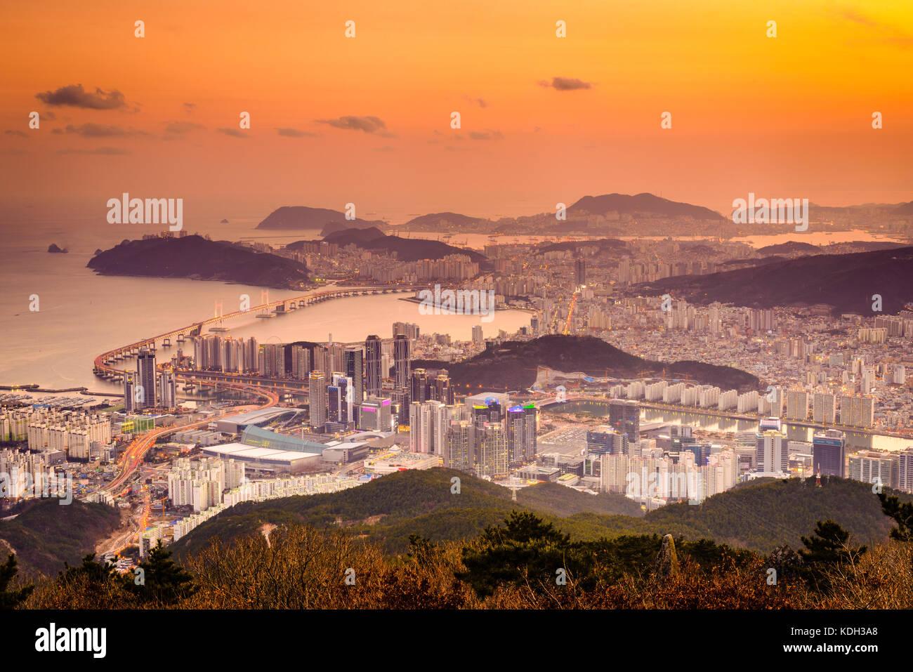 Busan, Südkorea. Stockbild
