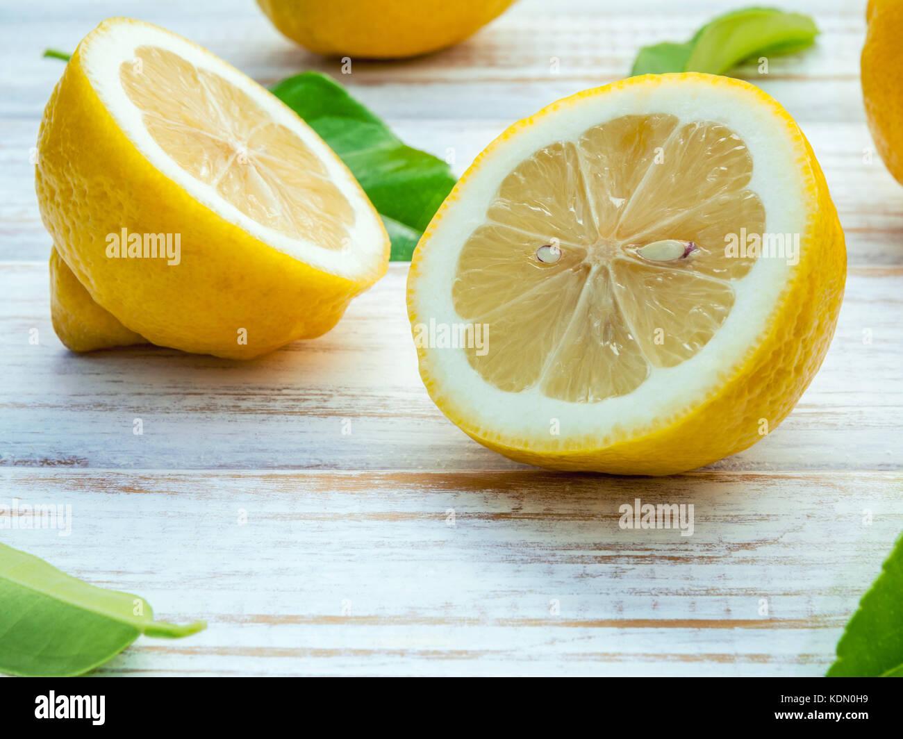 Zitronen Englisch