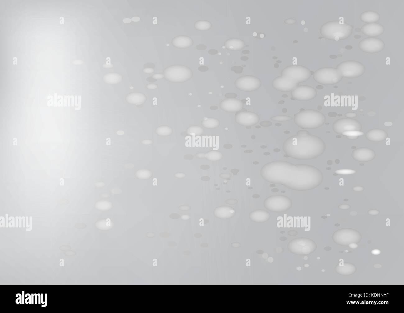Abstract vector bokeh Graustufen Hintergrund - Vector Hintergrund Abbildung. Stockbild