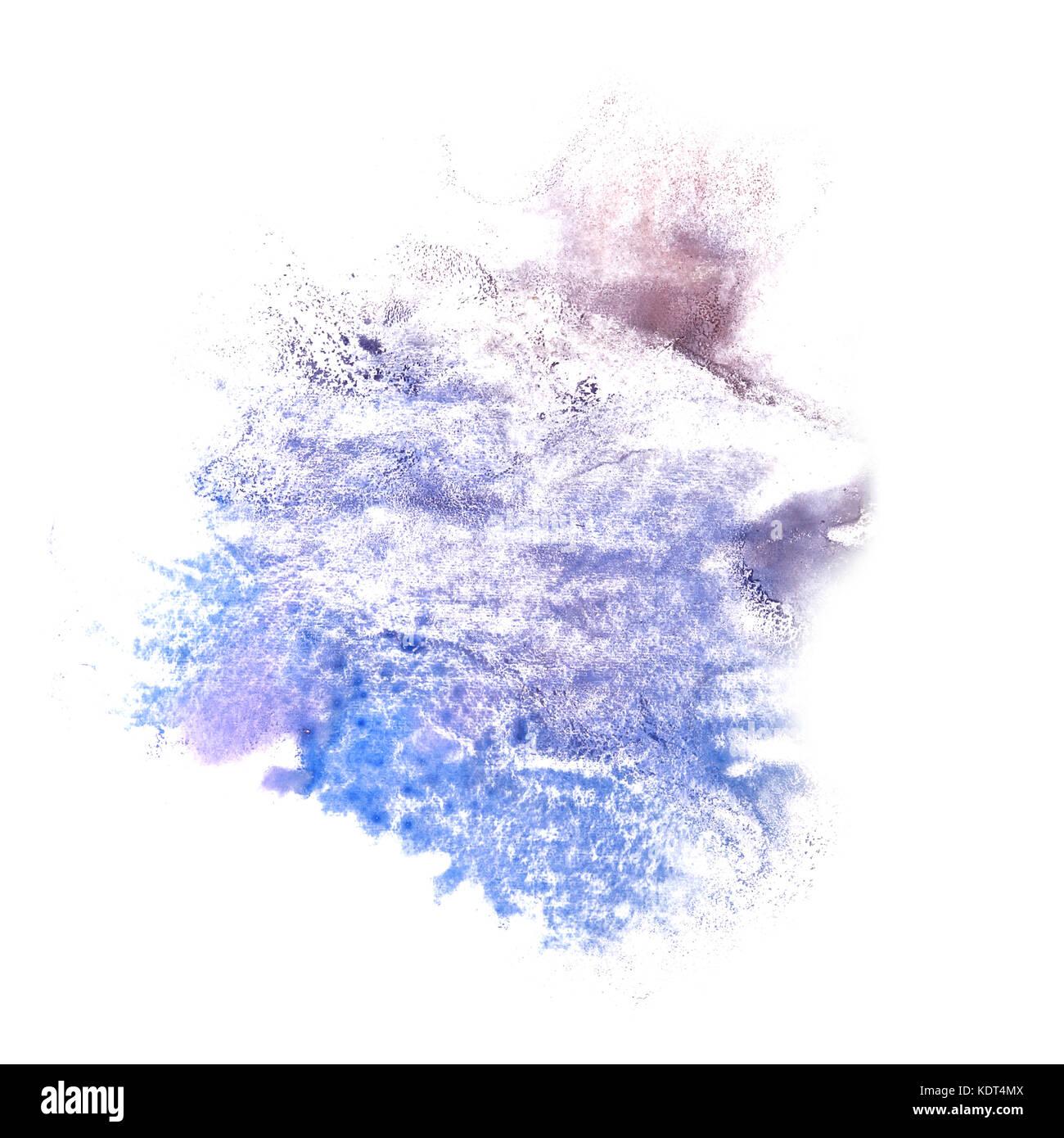 abstrakte grau, blau zeichnung schlaganfall tinte aquarell pinsel