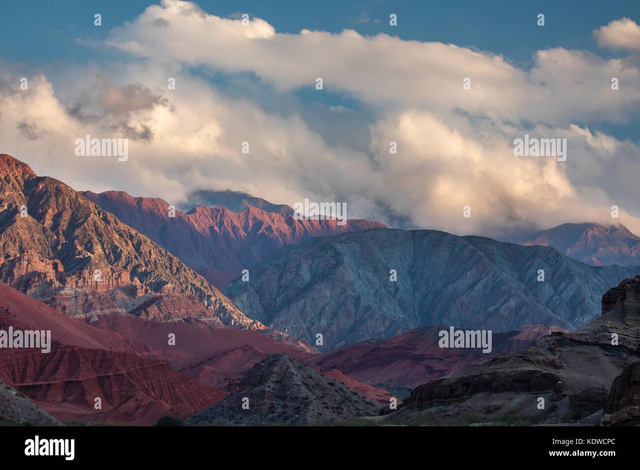 Die Quebrada de la Conches, Valles Calchaquies, Provinz Salta, Argentinien Stockfoto