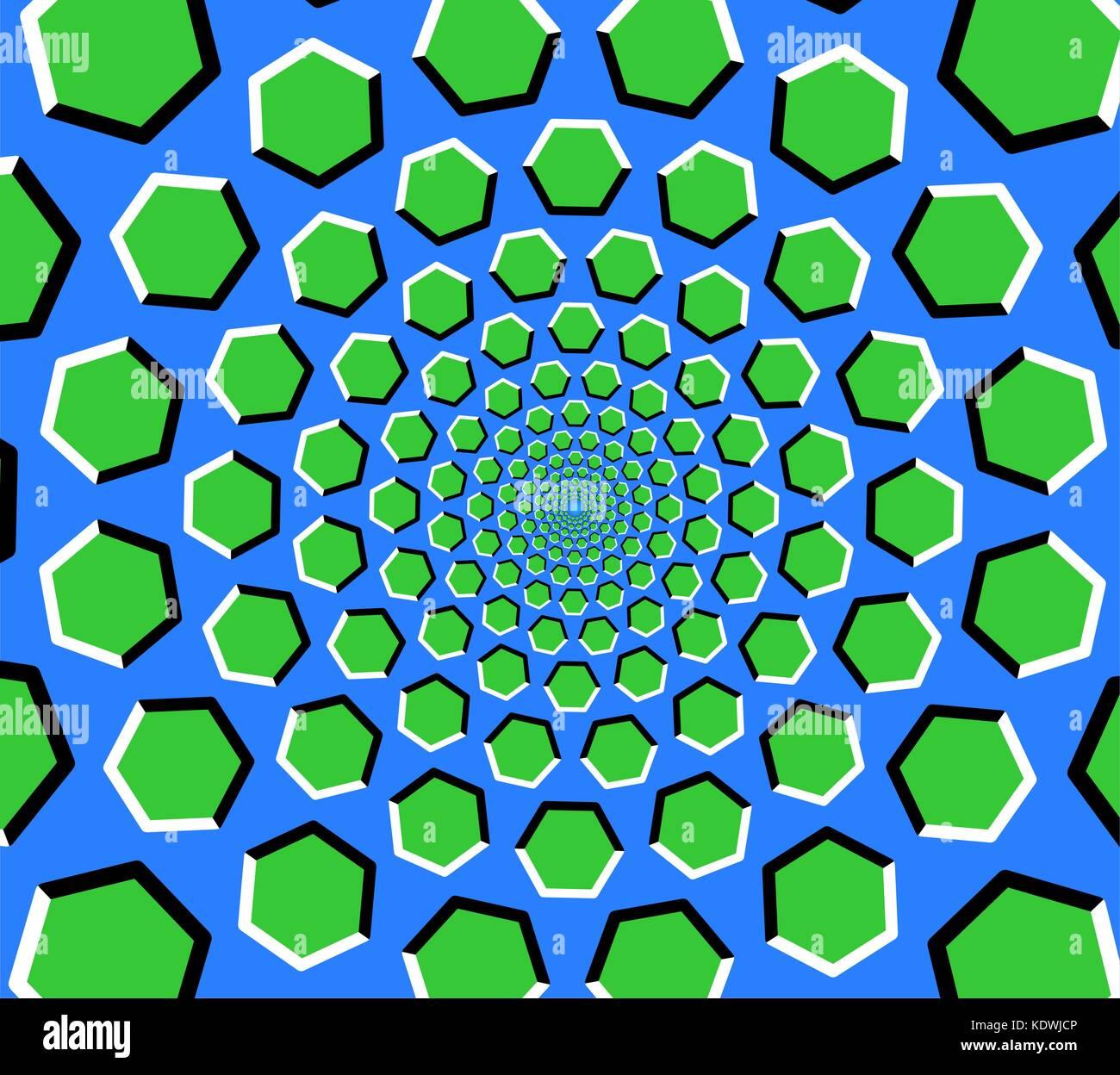 Rotating Illusion Stockfotos & Rotating Illusion Bilder - Alamy