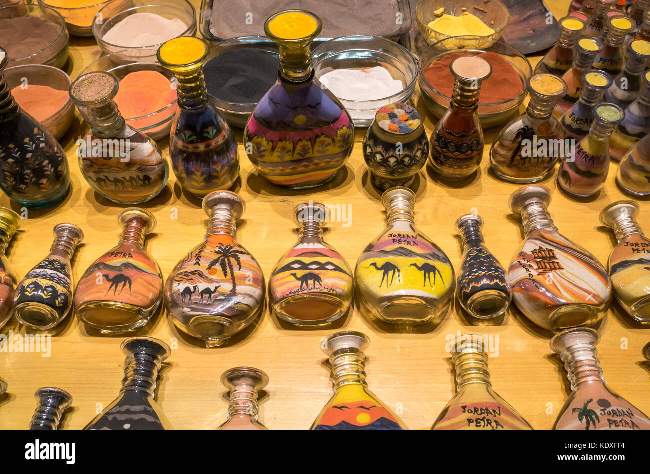 souvenirs petra jordan stockfotos souvenirs petra jordan. Black Bedroom Furniture Sets. Home Design Ideas