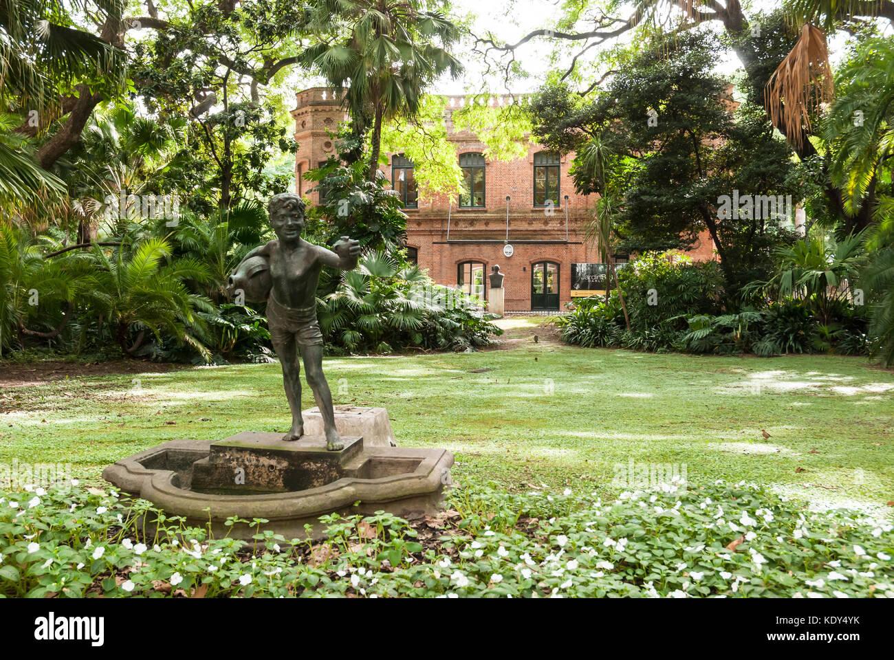 Buenos aires botanical garden stockfotos buenos aires for Amapola jardin de infantes palermo