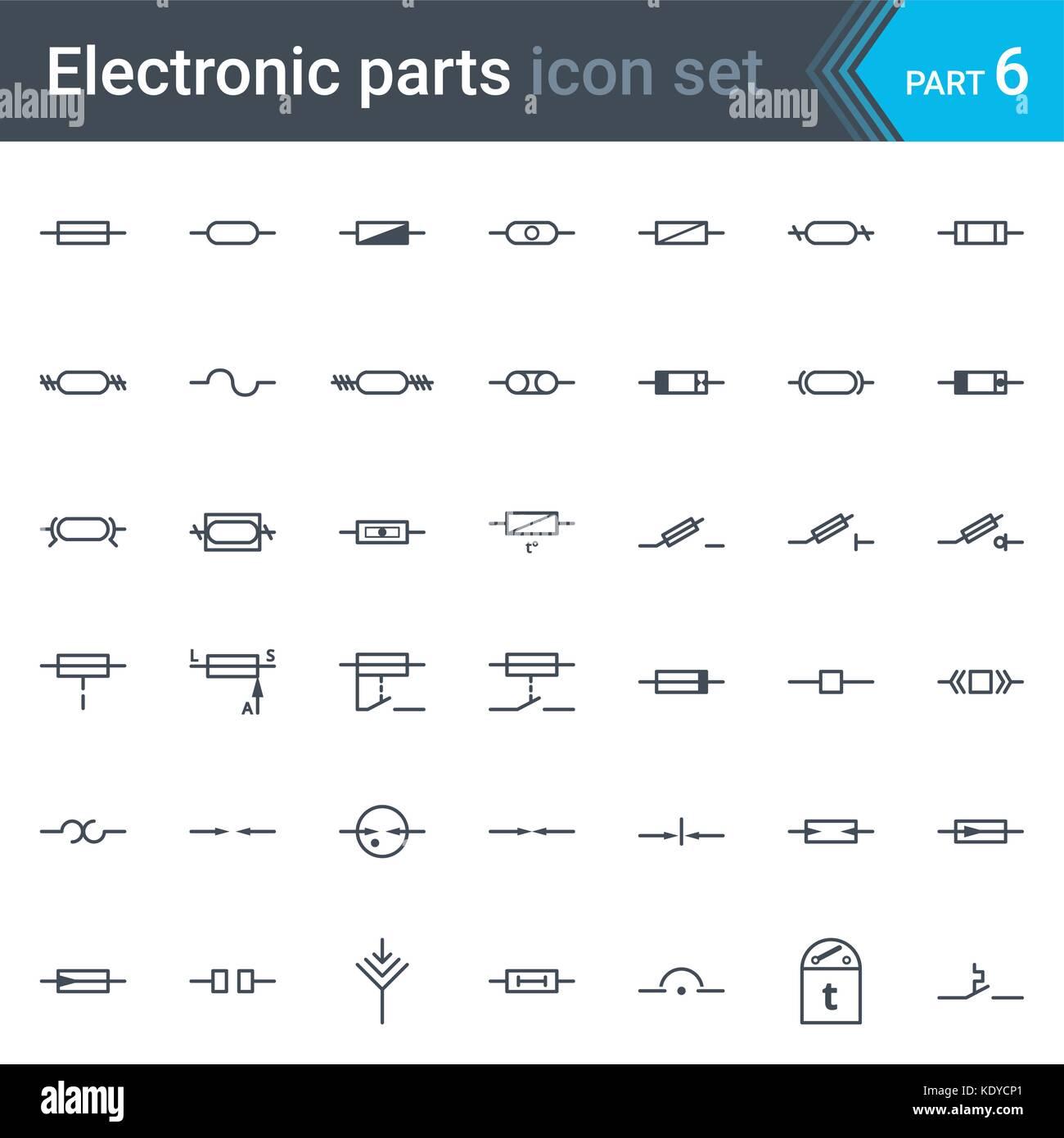 Fantastisch Schaltplan Sicherung Symbol Ideen - Elektrische ...