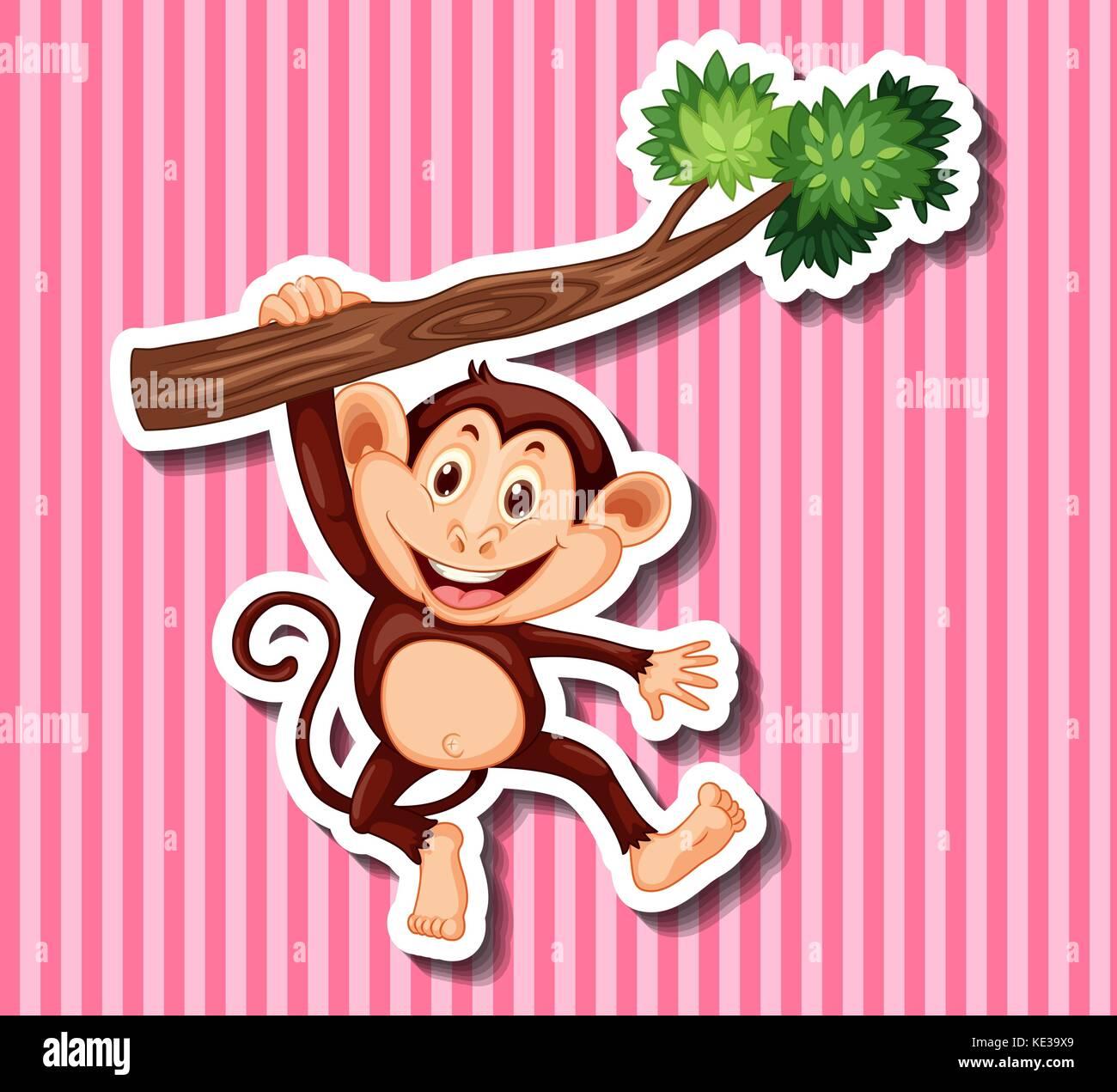 Fein Druckbare Affen Vorlage Fotos - Beispielzusammenfassung Ideen ...