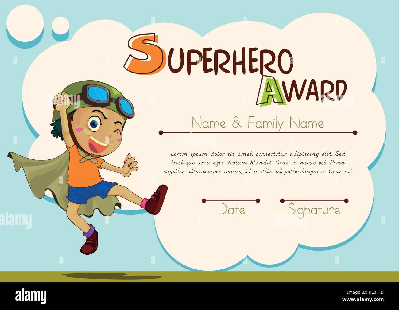 Niedlich Superheld Einladung Vorlage Zeitgenössisch - Entry Level ...
