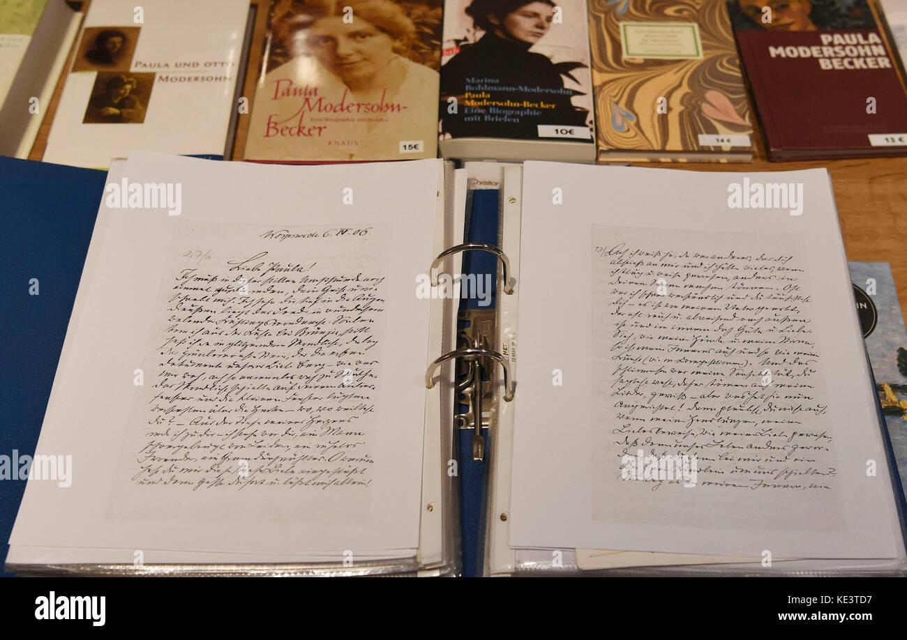 Briefe Und Tagebuchblätter Von Paula Modersohn Becker : Otto modersohn stockfotos bilder alamy