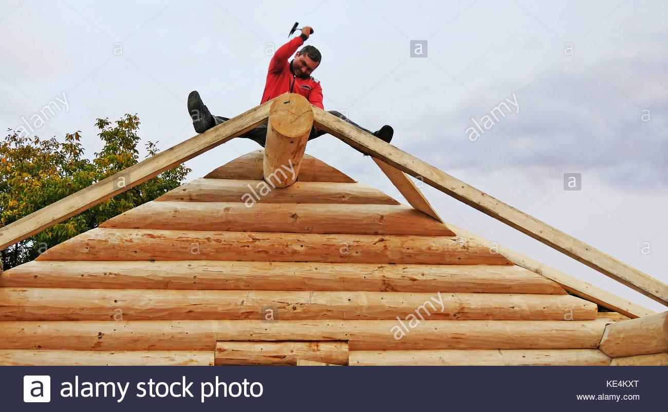 Roof Framing Stockfotos & Roof Framing Bilder - Alamy