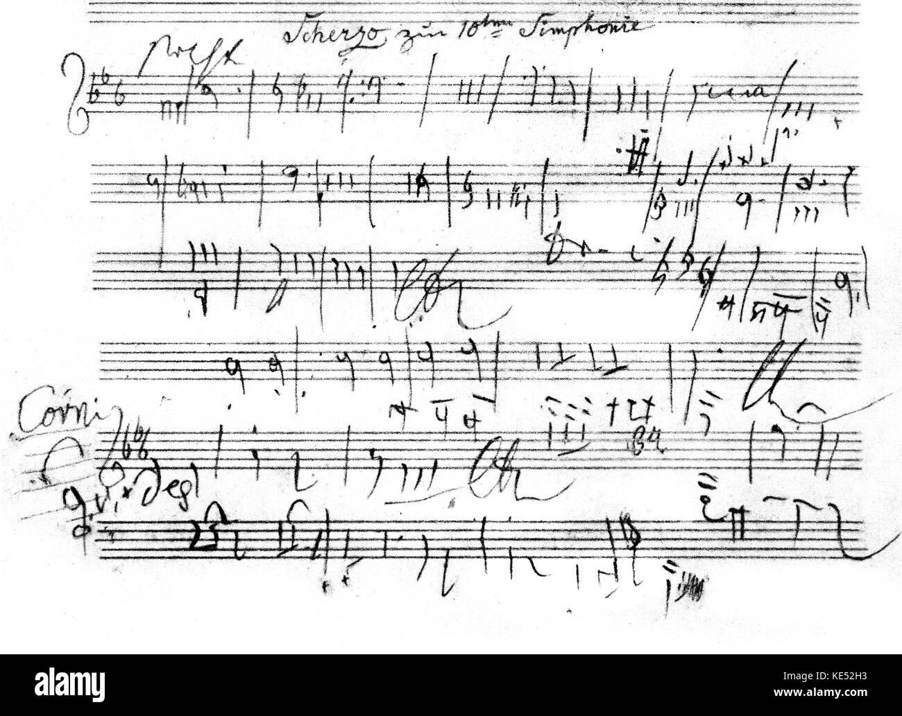 Beethoven 10 Sinfonie