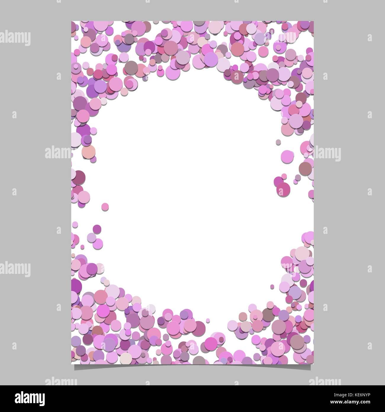 Geometrische chaotischen Dot Pattern Broschüre Hintergrund Vorlage ...