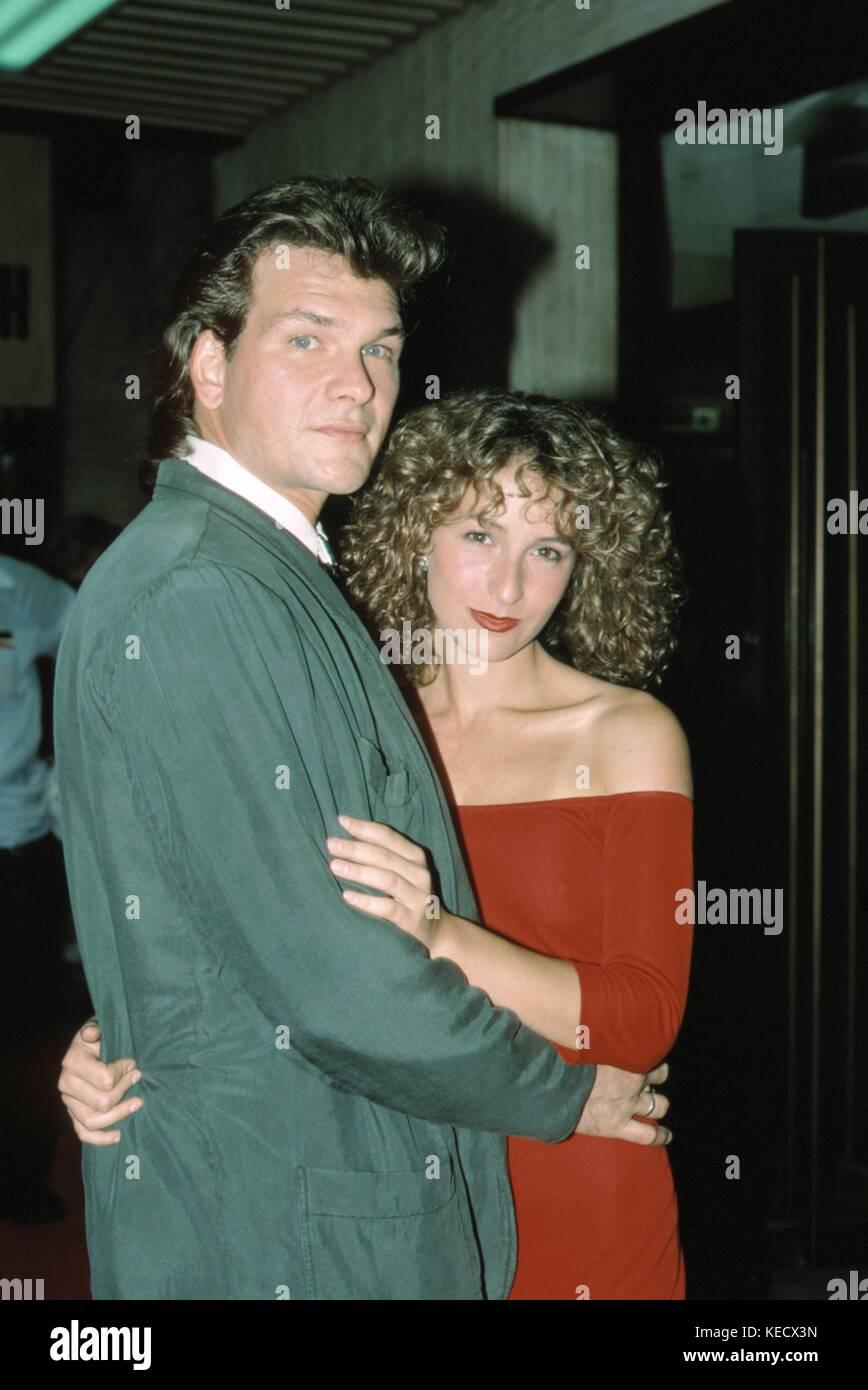 Jennifer Grey Und Patrick Swayze August 1987 Rttalesnick