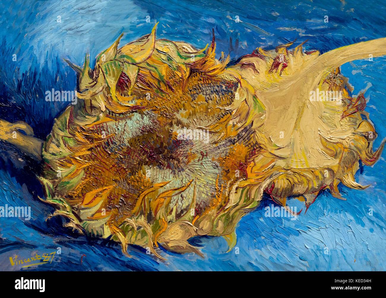 Sonnenblumen, Vincent van Gogh, 1887, Metropolitan Museum.