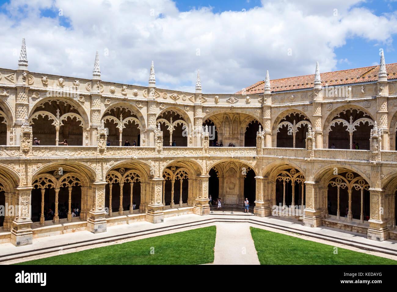 Lissabon portugal belem mosteiro dos jeronimos kloster for Architektur lissabon