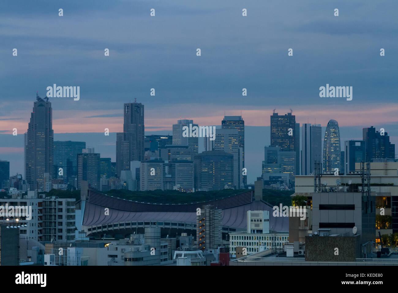 Shibuya, Tokio, Japan Freitag, 15. September 2017 Stockbild