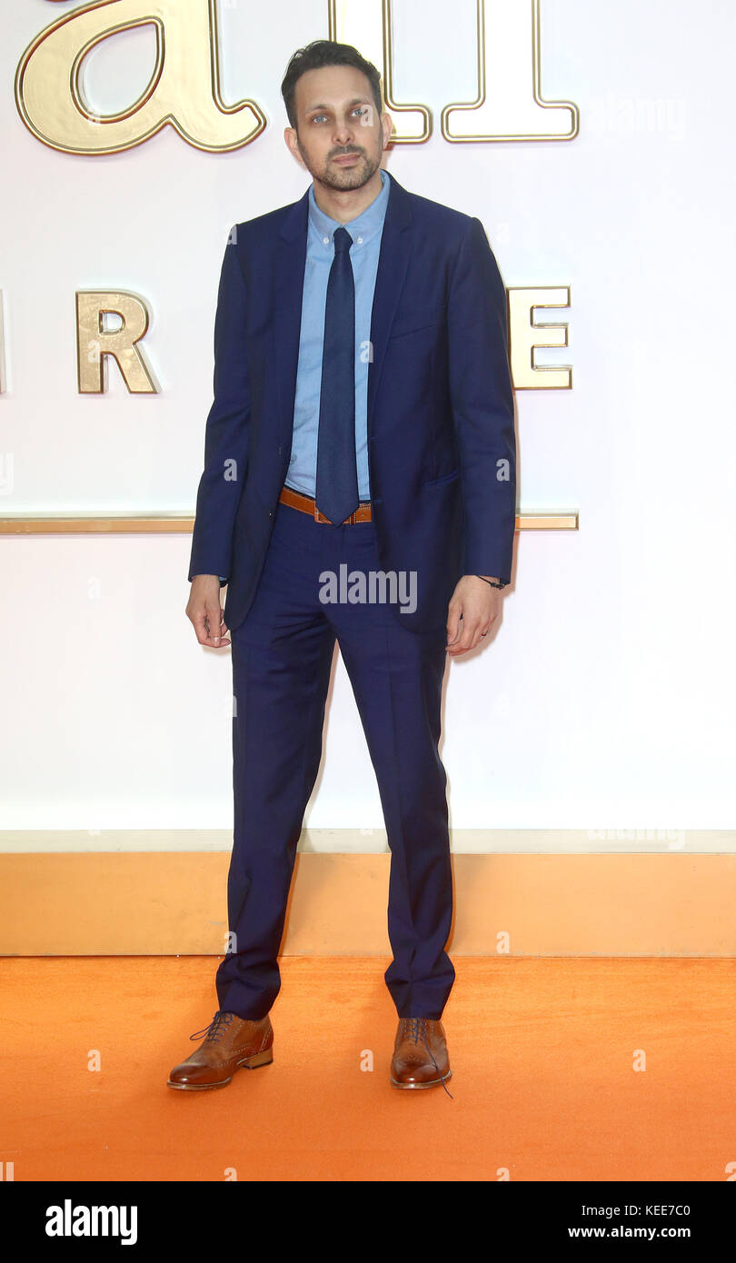 "Sep 18, 2017 - Dynamo die Teilnahme an 'Kingsman: Der Golden Circle"" Weltpremiere, Leicester Square in London, England, Stockfoto"