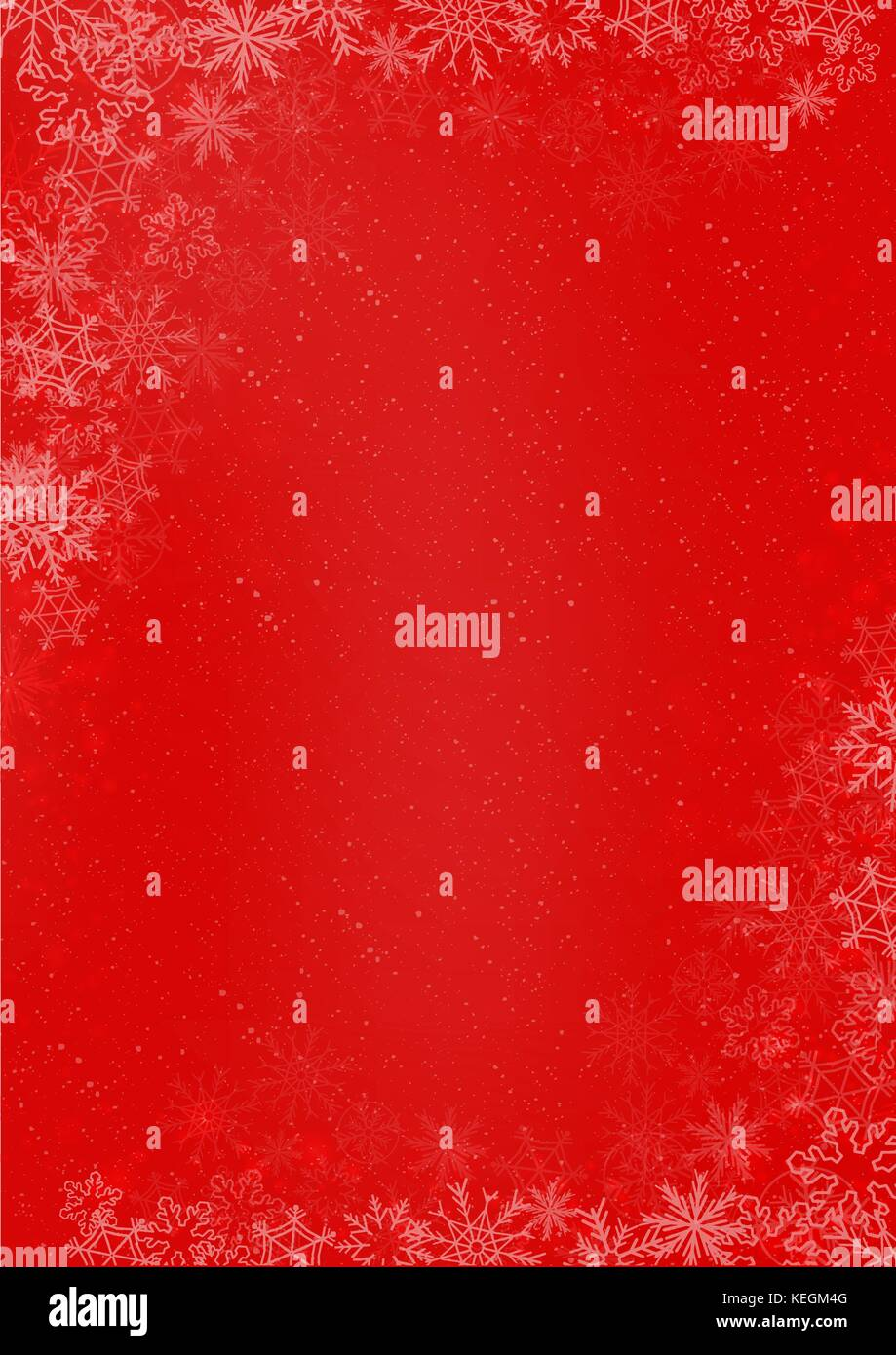 3 Internationale Größe - Winter Weihnachten rotes Papier Hintergrund ...