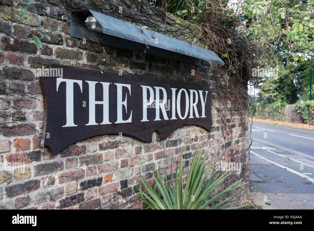 Priorat Krankenhaus London