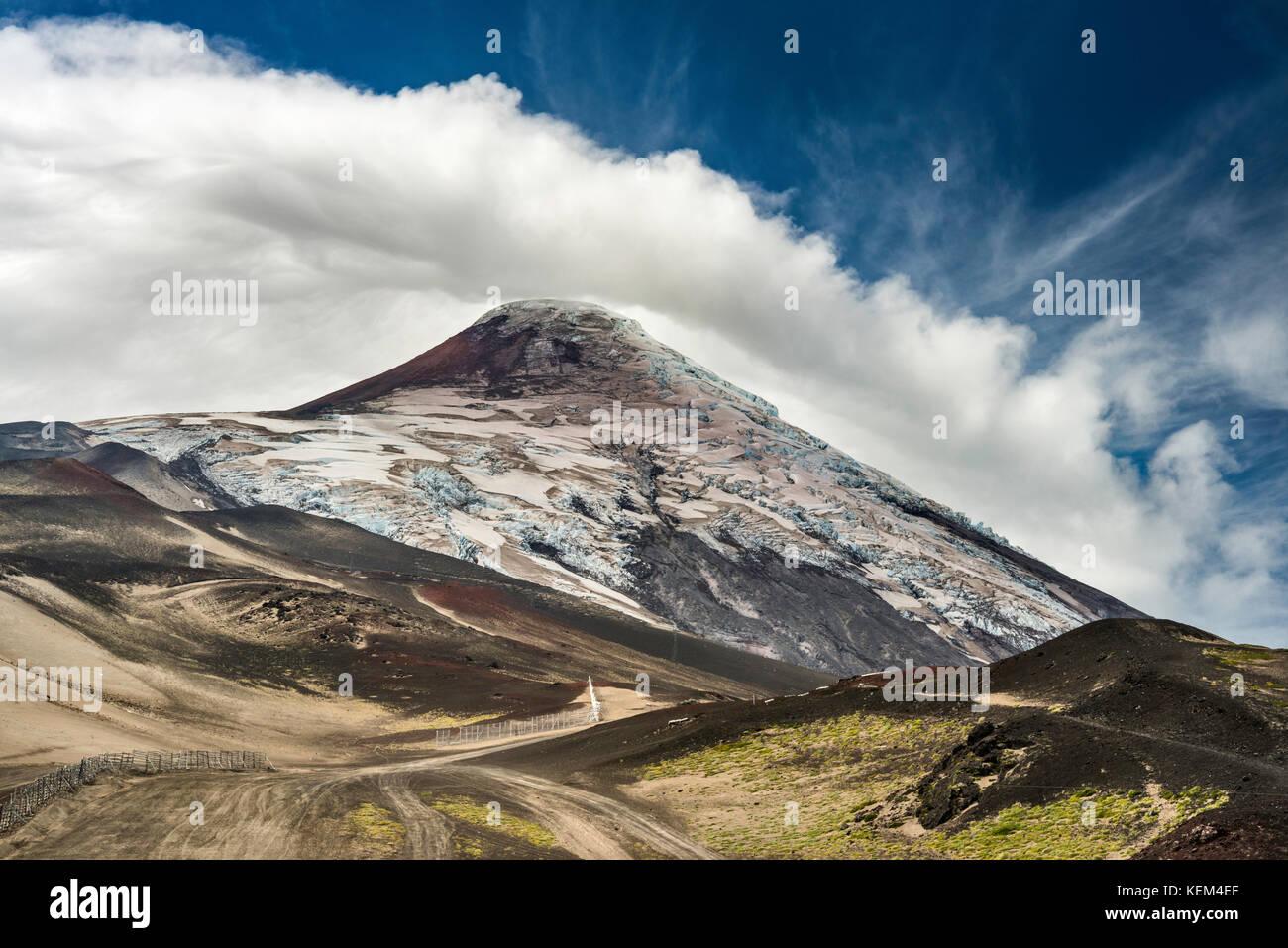Volcan Osorno, Vicente Perez Rosales National Park, Los Lagos Region, Patagonien, Chile Stockbild