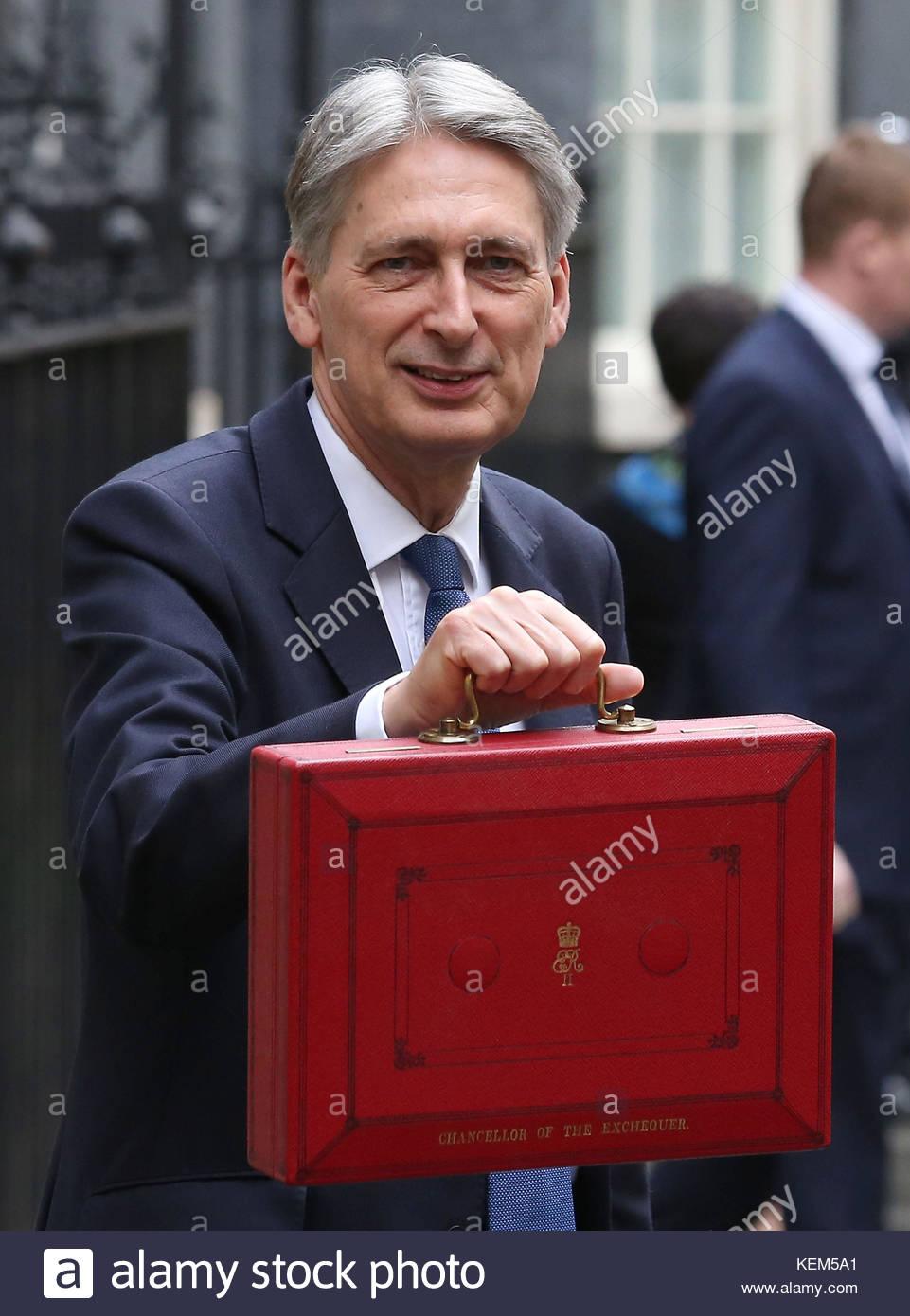 Embargo auf 0001 Montag, Oktober 23 Foto vom 08/03/17 Der Philip Hammond als die Regierung gedrängt, um Unternehmen Stockbild