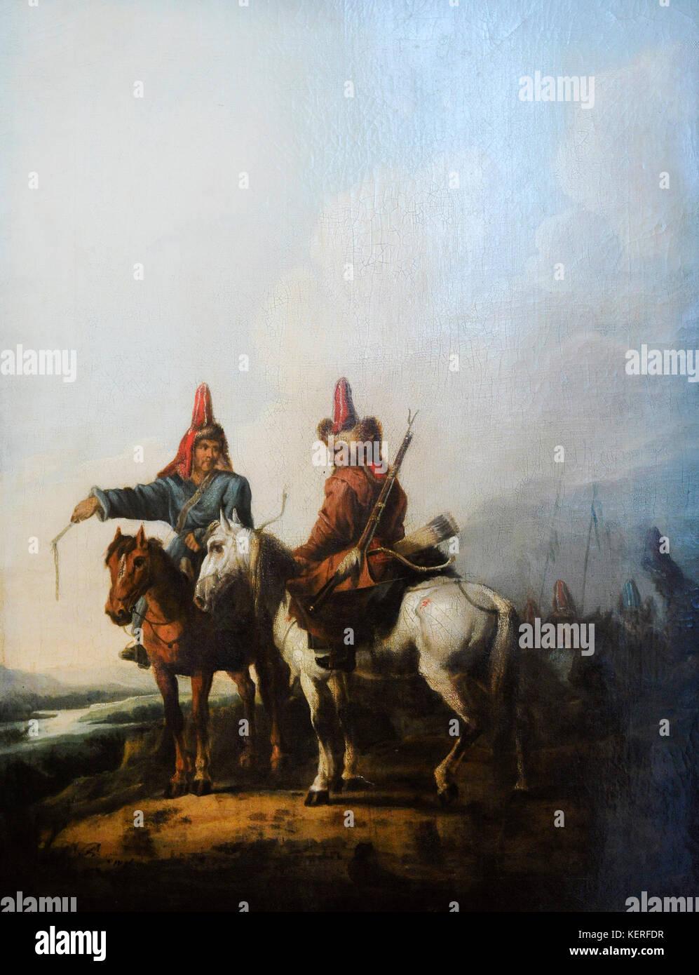 Aleksander orlowski (1777-1832). polnischen romantischen Maler. Kirgisische, 1809. Schlesischen Museum. Katowice Stockbild